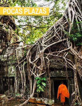 Camboya pocas plazas