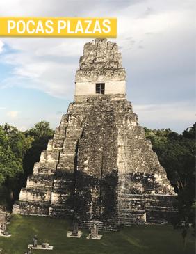 Guatemala pocas plazas