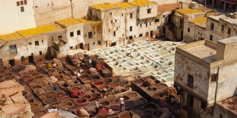 Fez, Marruecos (3000km Viaje Aventura Mochilero)