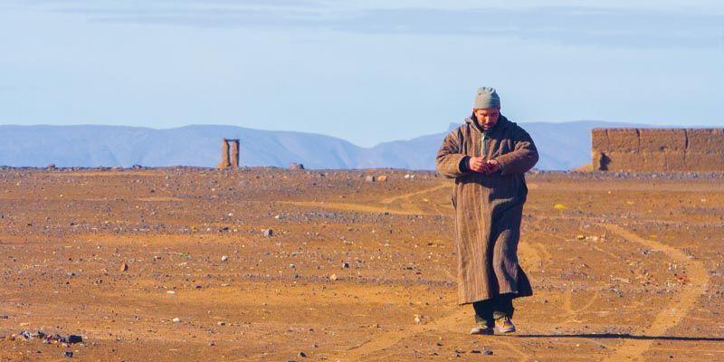 Merzouga, Marruecos (3000km Viaje Aventura Mochilero)