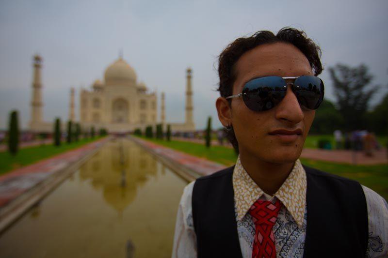 Taj Mahal, Agra, India (3000km Viaje Aventura Mochilero)