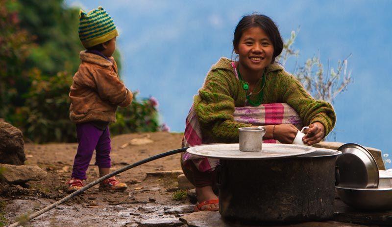 Yuksom, India (3000km Viaje Aventura Mochilero)