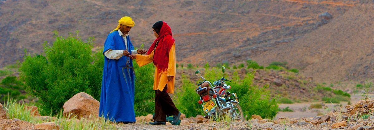 Valle de las Rosas Marruecos, Africa - 3000km-Viajes-Aventura-Alternativos-Grupo-Mochilero