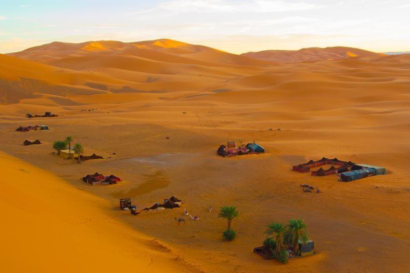 Erg Chebbi, Merzouga, Marruecos.