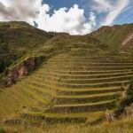 Terraza de las ruinas de Pisac. (3000km Viajes Aventura)