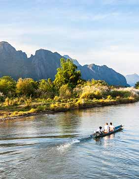Viajes difentes a Laos